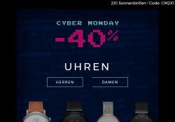 Mellerbrand.com Cyber Monday 40% Rabatt auf Uhren z.b. Makonnen Quartz Chronograph Herren Uhr für 83,40 € statt 139 €