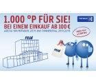 real Filiale: 1000 Punkte bei Einkauf ab 100€ 26.–29.11. mit Ausnahmen s.Text