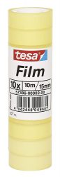 [Amazon Plus Produkt] Tesafilm Klebeband 10 Großrollen, 10m x 15mm für 1,79€ (PVG 5,13€)