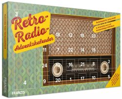 Voelkner: Franzis Retro Radio Adventskalender 2018 für nur 14,99 Euro statt 19,39 Euro bei Idealo