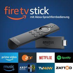 2 Stück Fire TV Stick mit Alexa-Sprachfernbedienung für 49,98 € (76,48 € Idealo) @Amazon