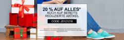 20% Rabatt auf alles mit 40€ MBW + über 66% Rabatt im Sale @Jeans Direct