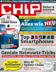 3 Ausgaben CHIP mit DVD kostenlos lesen dank Gutschein @kioskpresse