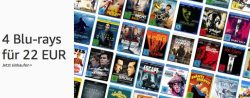 4 Blu-rays für 22€ bei amazon