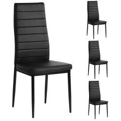 4er Set Aingoo Küchenstühle Schwarz 15.2 x 15.7 x40 inch  für 49,49€ inkl. Versand anstatt 59,49€ mit Gutschein