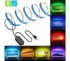 Amazon – 2m LED TV Backlight mit USB Anschluss und 7 Farben für 6,49 € statt 12,99 € mit Gutschein
