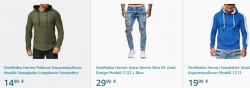 Amazon – 50% Rabatt auf alle One Redox Fashion Artikel im Amazon Shop durch Gutscheincode