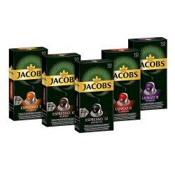 Amazon – Jacobs Kapseln Vielfaltspaket 50 Nespresso (5 x 10) Kapseln für 9,99€ (15,99€ PVG)
