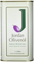 Amazon -Jordan Olivenöl (Natives Olivenöl extra) 1L Sparabo 13,60 € oder einmalig für 14,32 € statt 21,75 €