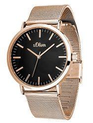 Amazon – S.Oliver Damen Time Armbanduhr SO-3327-MQ für 44,25€ (79,96€ PVG)