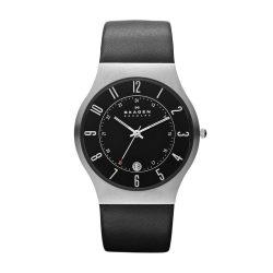 Amazon: Skagen 233XXLSLB Slimline Herren-Uhr für nur 49 Euro statt 108 Euro bei Idealo