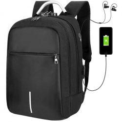 Amazon – Vbiger Laptop Rucksack Unisex 14 Zoll mit USB Ladeanschluss für 9,98 € statt 24,96 €