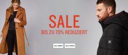Bis zu 70% Rabatt im Sale + 20,19€ oder 30% Rabatt Gutschein @Tom Tailor