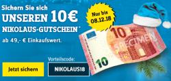 Conrad: Für 3 Tage Nikolausaktion mit 10 Euro Rabatt ab 49 Euro MBW
