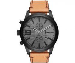 Diesel Herren Chronograph Quarz Uhr mit Leder Armband DZ4468 für 82,82€ inkl. Versand (PVG 128,55€) @amazon