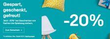 ebay – 20% Rabatt auf ausgewählte Artikel bis zum 16.Dezember