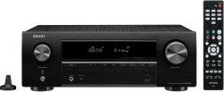 Ebay: Denon AVR-X550BT 5.2 AV-Receiver, Bluetooth, 5x HDMI, 4K , HDR für nur 189 Euro statt 218 Euro bei Idealo