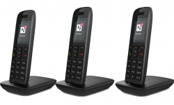 Office Partner: Telekom Speedphone 11 Trio mit Basis mit Gutschein für nur 56,90 Euro statt 108,89 Euro bei Idealo