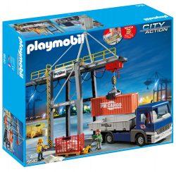 Real: 20% Rabatt auf Spielzeug mit Gutschein ohne MBW wie z.B. der Playmobil 9540 Elektrischer Verladekran mit LKW für nur 23,96 Euro statt 46,99 Euro bei Idealo