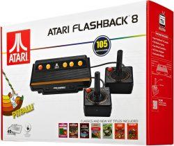 real: Atari Flashback 8 Retro Spielekonsole mit 105 Spielen und 2 Joysticks für nur 44,77 Euro statt 66,99 Euro bei Idealo