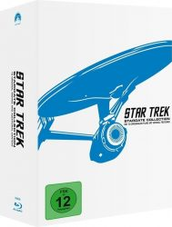 Saturn: Star Trek 1 – 10: Remastered Bluray Box für nur 29,99 Euro statt 46,98 Euro bei Idealo