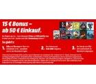 15€ Rabatt auf DVDs und Blu-rays ab 50€ Einkaufswert @Mediamarkt