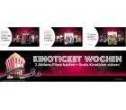 3 DVD oder Blu-ray kaufen nur 2 bezahlen + gratis Kinoticket @amazon