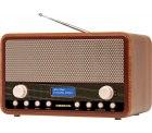 Amazon – MEDION E66312 DAB+ Retro Radio für 34,99€ (49,90€ PVG)