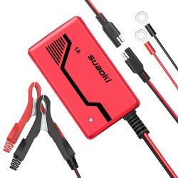 Amazon – SUAOKI Batterie Ladegerät 6V/12V 1.0A, Autobatterie Ladegeräte durch Gutscheincode für 5,99€ statt 19,99€