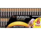 DURACELL Plus Power AA oder AAA Batterien Alkaline 36 Stück für je 11 € (19,99 € Idealo) @Media-Markt