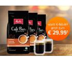 Kaffeevorteil: 3 kg Melitta Kaffee + 2 gratis Gläser + kostenloser Versand mit Gutschein für nur 29,99 Euro statt 50,97 Euro