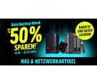 Notebooksbilliger: Bis zu 50% Rabatt auf NAS, SSD Festplatten, Speicherkarten usw. in der Data Backup Week