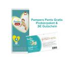 Pampers Pants Gratis Probierpaket & 3€ Rabatt Gutschein @Pampers