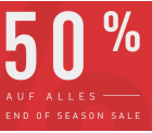 Reebok: 50% Rabatt auf alle Artikel im End of Season Sale