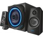 Saturn und Amazon: Trust GXT 628 2.1 Lautsprechersystem mit Subwoofer und LED-Beleuchtung für nur 55 Euro statt 74 Euro bei Idealo