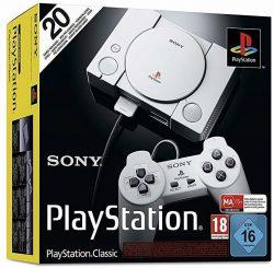 Sony PlayStation Classic Konsole Inkl. 20 PlayStation Games für 69 € (77,73 € Idealo) @Amazon