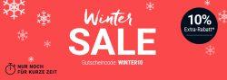 Tchibo – 10% Extra-Rabatt auf alle bereits reduzierten Artikel im Winter Sale durch Gutscheincode (kein MBW)