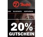 @teufel: 20% Gutschein auf ausgewählte Produkte