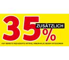 XXXLutz – Lagerräumungsverkauf + zusätzlich 35% Rabatt durch Gutscheincode (kein MBW)