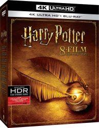 Amazon – Harry Potter – 8 Film Collection (8 Blu-Ray 4K Ultra Hd+8 Blu-Ray) (1 Blu-ray) für 69,85 € inkl. Versand statt 84,99 € laut Idealo