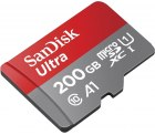 Amazon – SanDisk Ultra 200GB microSDXC Speicherkarte + Adapter für 28,99€ (33,44€ PVG)