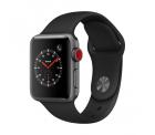 Apple Watch Series 3 LTE (GPS + Cellular) 38mm mit Sportarmband schwarz für 287,04€ anstatt 313,99€ PVG