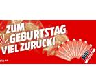 Bis zu 500 Euro als Coupon für Aktionsprodukte @Media-Markt Geburtstagsgeld Aktion
