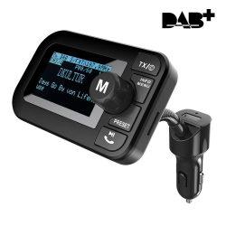 DAB+ Radio und FM Auto Transmitter (Bluetooth,SD Kartenslot) für 45,90€ inkl. Versand anstatt 53,99€ dank Coupon @amazon