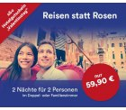 Hotelgutschein für 2 Übernachtungen für 2 Personen (+ 2 Kinder) für 59,90€ @aohotels