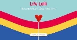 Lifelolli – Gratis Lolli bestellen & Leben retten