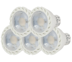 Media Markt – 5 Stück ISY ILE GU10 LED Lampen für 5€ (14,44€ PVG)