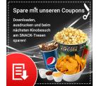 Mit CineStar Rabattcoupons für Snacks und Getränke bis zu 47% sparen