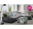 Mömax – 25% Rabatt durch Gutscheincode auf Möbel (kein MBW) online und Filiale