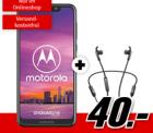 Motorola One + Jabra Elite 45e Kopfhörer 3GB LTE Datenvolumen bis zu 50Mbit/s, Allnet/SMS-Flat für 9,99€ mtl @MediaMarkt